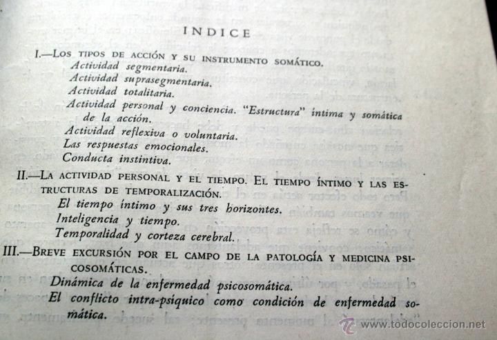 Libros antiguos: ALMA, CUERPO Y PERSONA - GOMEZ BOSQUE, Pedro.- Con Dedicatoria del autor - Foto 2 - 50510900