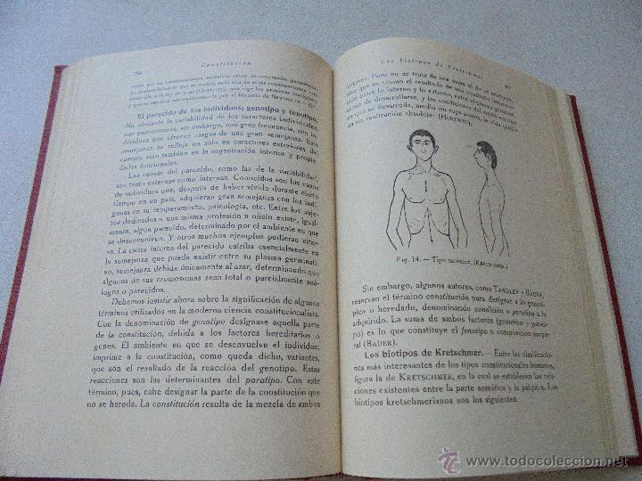 Libros antiguos: ELEMENTOS DE FISIOLOGÍA GENERAL J. MORROS SARDÁ-1931-MADRID-PRÓLOGO: G. MARAÑÓN - Foto 5 - 50518008