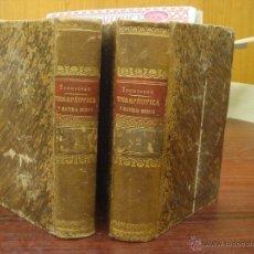 Libros antiguos: TRATADO DE TERAPEUTICA Y MATERIA MEDICA, 1872, TOMO I-II. Lote 32483716