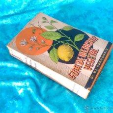 Libros antiguos: GUIA DE MEDICINA NATURAL, CASA SANTIVERI, DR. V. L. FERRANDIZ, 1937. Lote 50761690