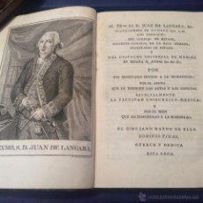 Libros antiguos: PLENCK. TRATADO DE LAS ENFERMEDADES DE LOS OJOS. CÁDIZ 1797. PRIMERA EDICIÓN. CIRUGÍA GRABADOS.. Lote 50992120