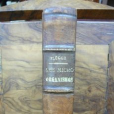 Libros antiguos: LOS MICRO-ORGANISMOS ESTUDIADOS ESPECIALMENTE DESDE EL PUNTO DE VISTA... C. FLÜGGE. 1888-89.. Lote 51008682