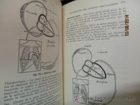 Libros antiguos: EXPLORACIÓN CLÍNICA PRÁCTICA ·· DR. NOGUER Y MOLINS - ED. CIENTIFICO MÉDICA - Foto 5 - 51194497