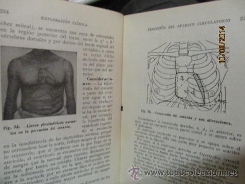 Libros antiguos: EXPLORACIÓN CLÍNICA PRÁCTICA ·· DR. NOGUER Y MOLINS - ED. CIENTIFICO MÉDICA - Foto 6 - 51194497