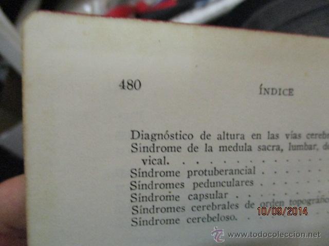 Libros antiguos: EXPLORACIÓN CLÍNICA PRÁCTICA ·· DR. NOGUER Y MOLINS - ED. CIENTIFICO MÉDICA - Foto 7 - 51194497