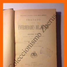 Libros antiguos: TRATADO DE LAS ENFERMEDADES DEL HÍGADO - JACOBO BUDD. Lote 51318870
