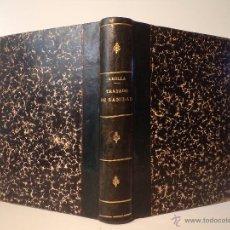 Libros antiguos: TRATADO DE SANIDAD. EL CONSULTOR DE LOS AYUNTAMIENTOS Y DE LOS JUZGADOS MUNICIPALES, 1930. RARO. . Lote 51805075