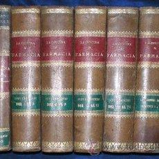 Libros antiguos: DORVAULT, MR. DE: LA OFICINA DE FARMACIA (BOTICA) + SUPLEMENTOS + INDICES. 8 VOLS. 1880-1905. Lote 52122727