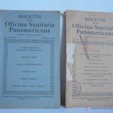 Libros antiguos: BOLETIN DE LA OFICINA SANITARIA PANAMERICANA.AÑO 12-Nº8 1933.AÑO 14 Nº 3 1935. VER FOTOGRAFIAS ADJUN. Lote 52669867
