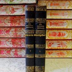 Libros antiguos: DES MALADIES MENTALES CONSIDÉREES SOUS LES RAPPORTS MÉDICAL, HYGIÉNIQUE ET MÉDICO-LÉGAL . 2 VOLS. . Lote 52746388