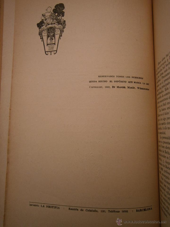 Libros antiguos: Recientes innovaciones en terapeutica experimental suero y quimioterapia Wolff Eisner 1932 - Foto 9 - 52828388