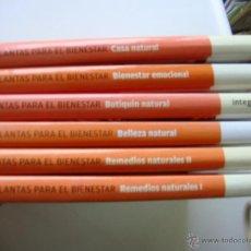 Libros antiguos: PLANTAS PARA EL BIENESTAR, 6 TOMOS. Lote 52945965