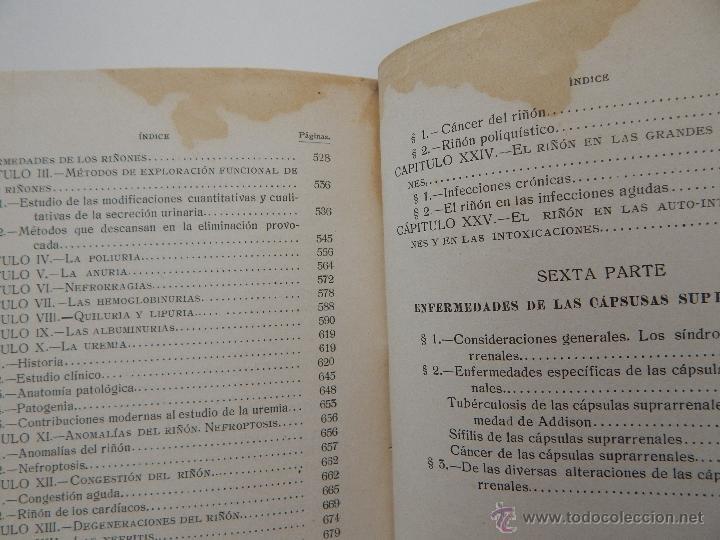 Libros antiguos: Manual de Patología Interna. Tomo III - Dr. D. Arturo Cubells Blasco (traductor), 1915 - Foto 14 - 52990415