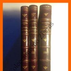 Libros antiguos: CLINICA QUIRURGICA (TOMOS 2-3-4) - PABLO L. MIRIZZI. Lote 53049467