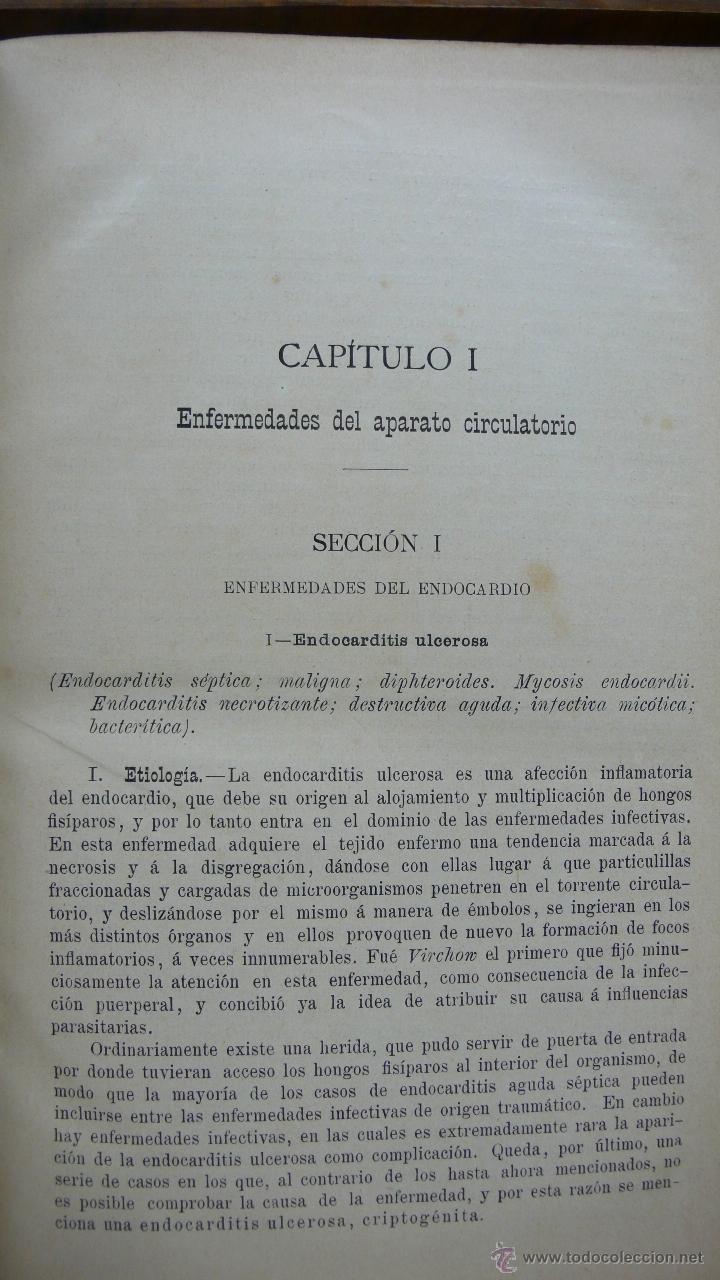 Libros antiguos: TRATADO DE PATOLOGÍA INTERNA Y TERAPÉUTICA. HERMANN EICHHORST. 3 VOL. 1894 - Foto 3 - 53319978