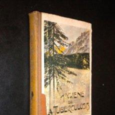 Libros antiguos: HIGIENE DE LA TUBERCULOSIS / AGUSTIN BASSOLS Y PRIM / 1912. Lote 53434734