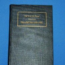 Libros antiguos: LIBRO TERAPEUTICA INFANTIL 1934. Lote 53503630