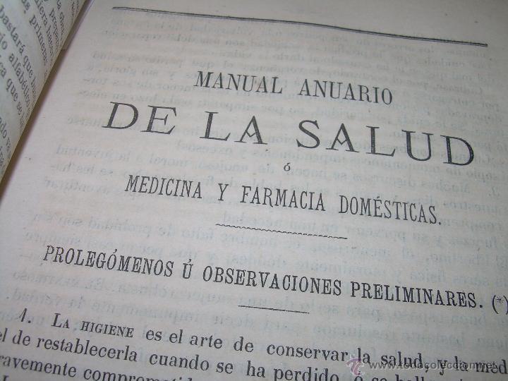 Libros antiguos: BIBLIOTECA RASPAIL..MEDICINA - FARMACIA....FARMACOPEA Y CASOS MEDICO QUIRURGICOS...AÑO 1.876 - 1.877 - Foto 8 - 53665964