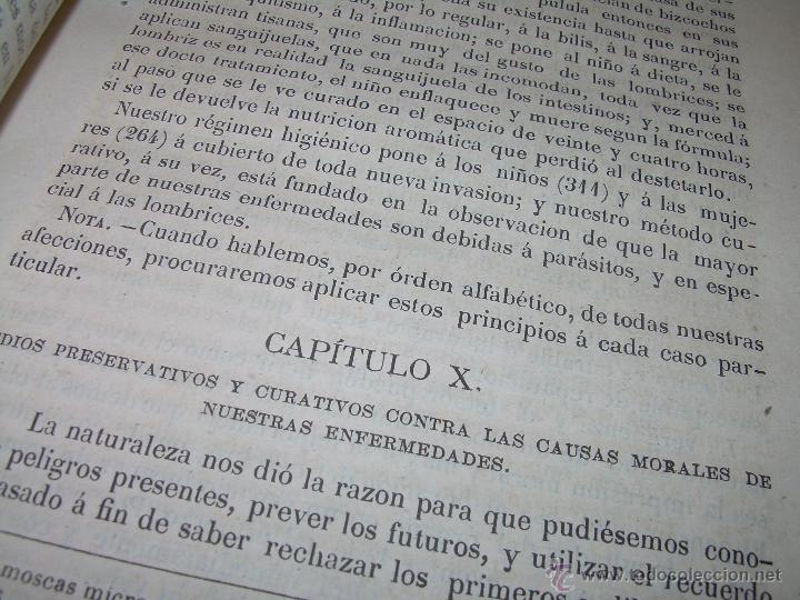 Libros antiguos: BIBLIOTECA RASPAIL..MEDICINA - FARMACIA....FARMACOPEA Y CASOS MEDICO QUIRURGICOS...AÑO 1.876 - 1.877 - Foto 9 - 53665964