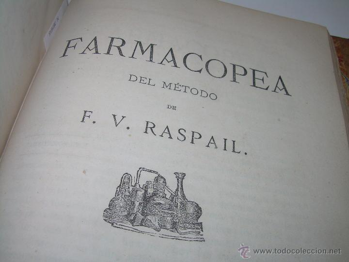Libros antiguos: BIBLIOTECA RASPAIL..MEDICINA - FARMACIA....FARMACOPEA Y CASOS MEDICO QUIRURGICOS...AÑO 1.876 - 1.877 - Foto 10 - 53665964