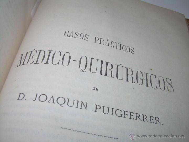 Libros antiguos: BIBLIOTECA RASPAIL..MEDICINA - FARMACIA....FARMACOPEA Y CASOS MEDICO QUIRURGICOS...AÑO 1.876 - 1.877 - Foto 12 - 53665964