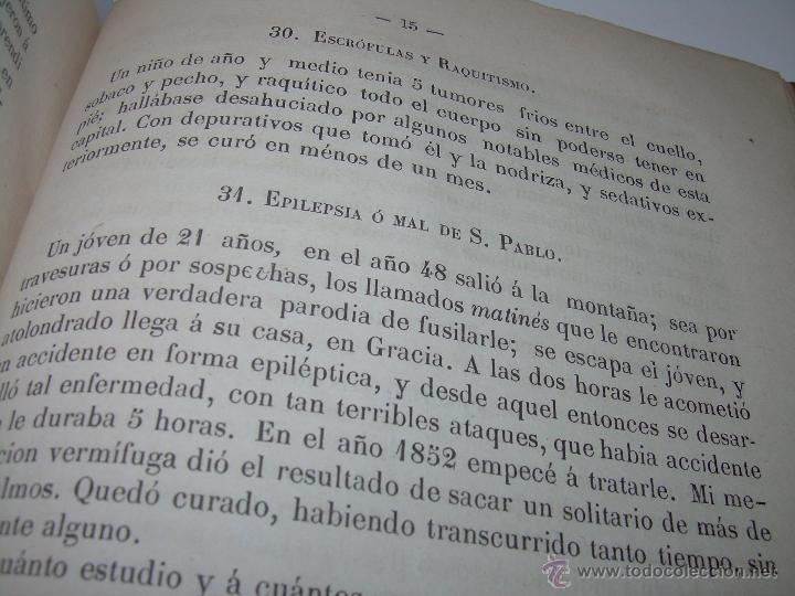 Libros antiguos: BIBLIOTECA RASPAIL..MEDICINA - FARMACIA....FARMACOPEA Y CASOS MEDICO QUIRURGICOS...AÑO 1.876 - 1.877 - Foto 14 - 53665964