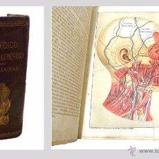 Libros antiguos: EL MEDICO PRACTICO Y DOMESTICO ENCICLOPEDIA DE MEDICINA,ENFERMEDADES DE LOS TROPICOS- AÑO 1.892. Lote 53698021