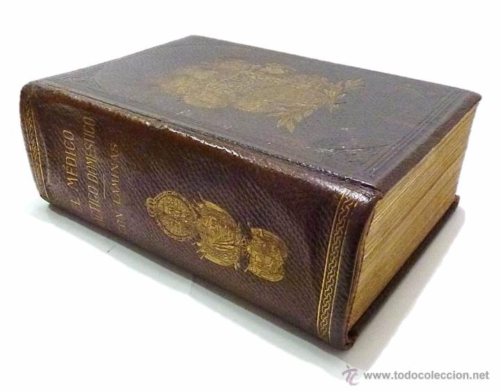 Libros antiguos: EL MEDICO PRACTICO Y DOMESTICO ENCICLOPEDIA DE MEDICINA,ENFERMEDADES DE LOS TROPICOS- AÑO 1.892 - Foto 2 - 53698021