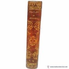 Libros antiguos: ANTIGUO LIBRO TAPAS DE PIEL Y PASTA ESPAÑOLA DE MEDICINA- TRATADO DE CIRUGIA AÑO 1.847. Lote 47840827