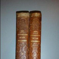 Libros antiguos: TRATADO DE LAS ENFERMEDADES DE LAS MUJERES. DR. CH. WEST - 2 TOMOS - MADRID - MOYA Y PLAZA - 1873. Lote 53833606