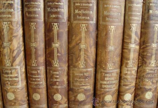 TRATADO DE MEDICINA INTERNA (MOHR / STAEHELIN) - 15 TOMOS,SATURNINO CALLEJA 1922 - OBRA COMPLETA - (Libros Antiguos, Raros y Curiosos - Ciencias, Manuales y Oficios - Medicina, Farmacia y Salud)