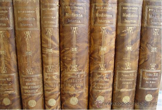 Libros antiguos: Tratado de Medicina Interna (Mohr / Staehelin) - 15 Tomos,Saturnino Calleja 1922 - Obra Completa - - Foto 2 - 54136170