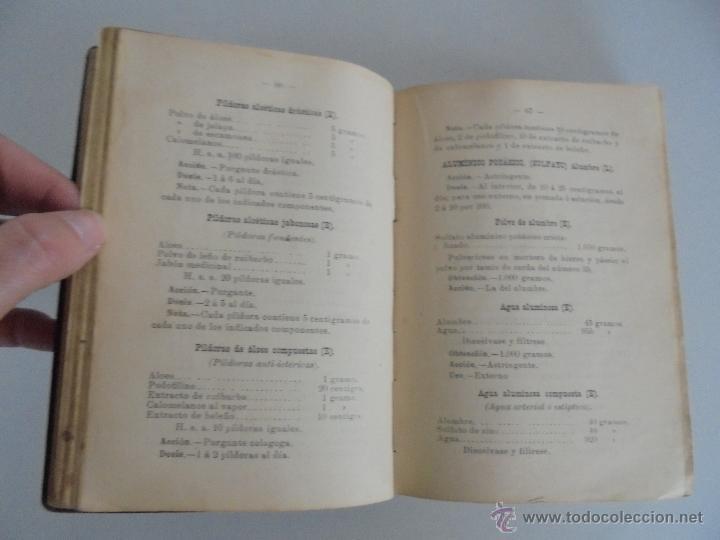 Libros antiguos: PETITORIO FORMULARIO MEDICO FARMACEUTICO PARA LOS SERVICIOS A CARGO DE LAS FARMACIAS MILITARES. - Foto 10 - 54427411
