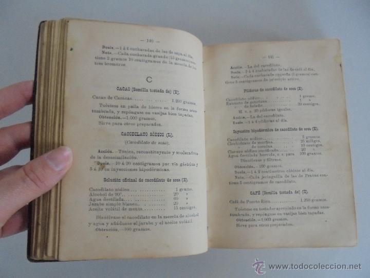 Libros antiguos: PETITORIO FORMULARIO MEDICO FARMACEUTICO PARA LOS SERVICIOS A CARGO DE LAS FARMACIAS MILITARES. - Foto 11 - 54427411
