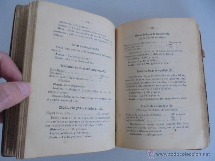 Libros antiguos: PETITORIO FORMULARIO MEDICO FARMACEUTICO PARA LOS SERVICIOS A CARGO DE LAS FARMACIAS MILITARES. - Foto 12 - 54427411