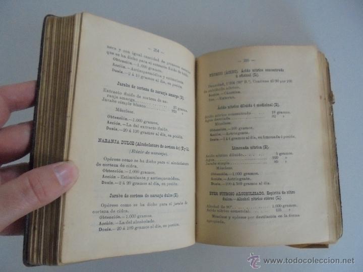 Libros antiguos: PETITORIO FORMULARIO MEDICO FARMACEUTICO PARA LOS SERVICIOS A CARGO DE LAS FARMACIAS MILITARES. - Foto 13 - 54427411
