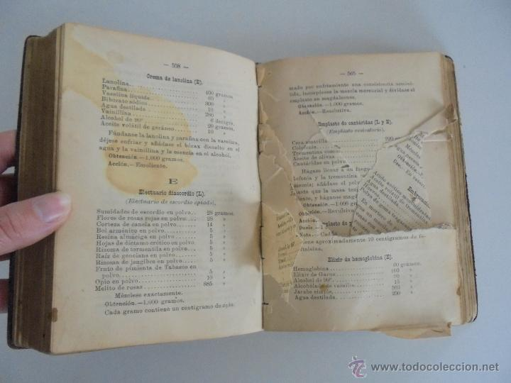 Libros antiguos: PETITORIO FORMULARIO MEDICO FARMACEUTICO PARA LOS SERVICIOS A CARGO DE LAS FARMACIAS MILITARES. - Foto 15 - 54427411