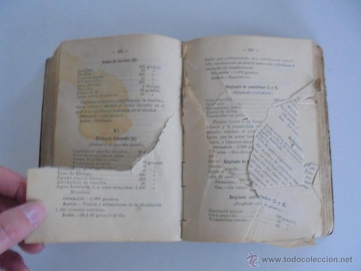 Libros antiguos: PETITORIO FORMULARIO MEDICO FARMACEUTICO PARA LOS SERVICIOS A CARGO DE LAS FARMACIAS MILITARES. - Foto 16 - 54427411