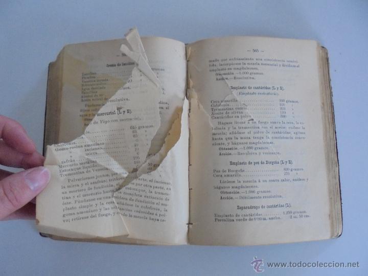 Libros antiguos: PETITORIO FORMULARIO MEDICO FARMACEUTICO PARA LOS SERVICIOS A CARGO DE LAS FARMACIAS MILITARES. - Foto 17 - 54427411