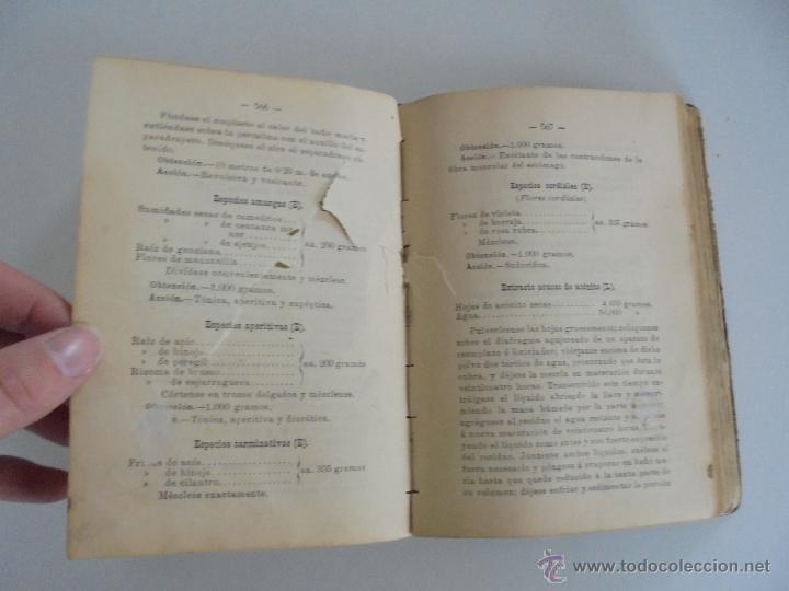 Libros antiguos: PETITORIO FORMULARIO MEDICO FARMACEUTICO PARA LOS SERVICIOS A CARGO DE LAS FARMACIAS MILITARES. - Foto 18 - 54427411
