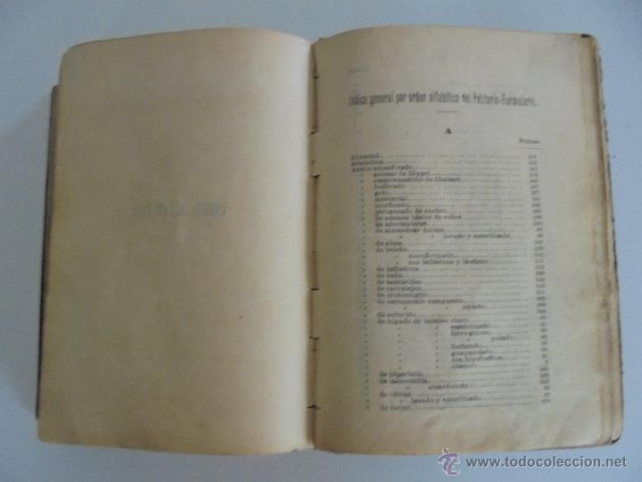Libros antiguos: PETITORIO FORMULARIO MEDICO FARMACEUTICO PARA LOS SERVICIOS A CARGO DE LAS FARMACIAS MILITARES. - Foto 21 - 54427411