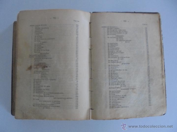Libros antiguos: PETITORIO FORMULARIO MEDICO FARMACEUTICO PARA LOS SERVICIOS A CARGO DE LAS FARMACIAS MILITARES. - Foto 23 - 54427411