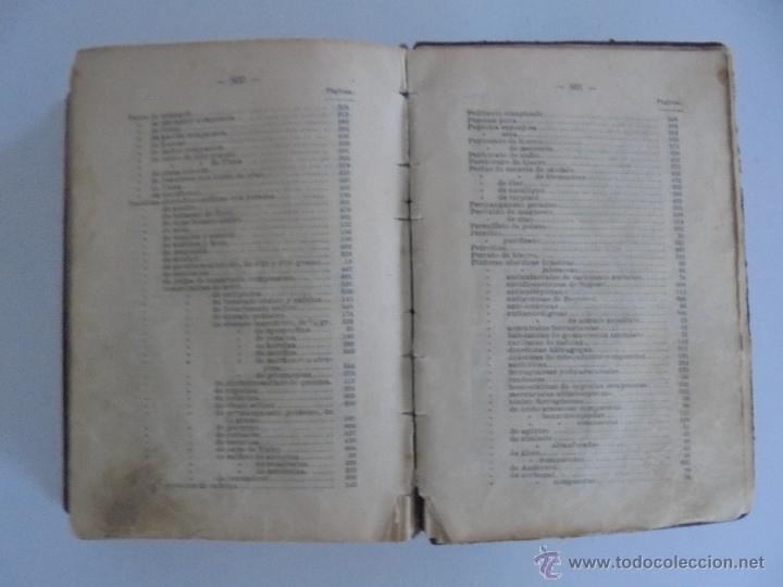 Libros antiguos: PETITORIO FORMULARIO MEDICO FARMACEUTICO PARA LOS SERVICIOS A CARGO DE LAS FARMACIAS MILITARES. - Foto 24 - 54427411