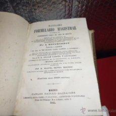Libros antiguos: LIBRO DE 1865 DE A.BOUCHARD, FÓRMULAS MAGISTRALES. Lote 54674607