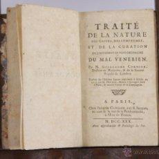 Libros antiguos: 5809 - TRAITE DE LA NATURE DE CAUSES DES SYMPTOMES. GUILLAUME COKBURN.EDI. JACQUES CLOUZIER. 1730.. Lote 48640608