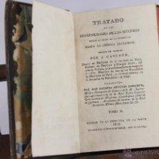 Libros antiguos: 5813 - TRATADO DE ENFERMEDADES DE LAS MUGERES. CAPURON. IMP. DE LA PARTE. VOL II. 1818.. Lote 48641913