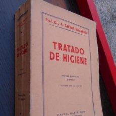 Libros antiguos: TRATADO DE HIGIENE. Lote 55320393