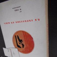 Libros antiguos: INFECCIÓN EN O.T.L.. Lote 55321192