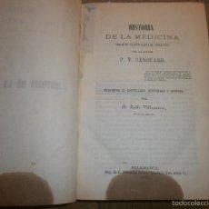 Libros antiguos: HISTORIA DE LA MEDICINA DESDE SU ORIGEN HASTA EL S. XIX POR EL DOCTOR P. V. RENOUARD (1871). Lote 55370509