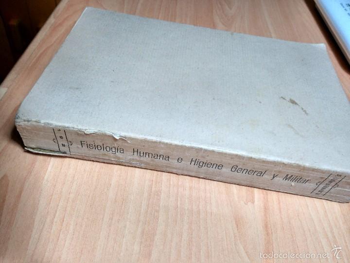 Libros antiguos: LIBRO MEDICINA MILITAR 1928: FISIOLOGÍA HUMANA E HIGIENE GENERAL Y MILITAR. ANTONIO VALERO NAVARRO. - Foto 4 - 121165931